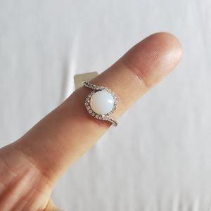 2/$20 Lab Moonstone Sterling Silver Ring